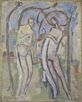 Adam and Eve, 1888 Fine Art Print