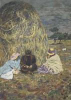 The Haystack, 1907-1908 Fine Art Print