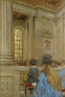 Chapel at the Chateau of Versailles 1917-1919 Fine Art Print