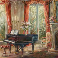 The Music Room I Fine Art Print