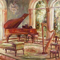 The Music Room II Fine Art Print
