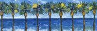 Palms In Paradise Fine Art Print