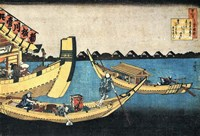 A Summer Sight on the River Sumida Fine Art Print