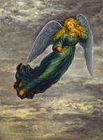 Angel In The Clouds Fine Art Print
