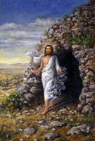 Jesus Rises Fine Art Print