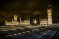 Houses of Parliament Fine Art Print