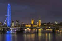 Thames at Night Fine Art Print