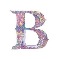 B Fine Art Print