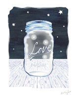Jane Mason Jar Fine Art Print