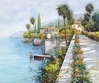 Lungo Lago Fine Art Print