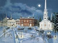 Berkshire Green in Winter (Lee Mass) Fine Art Print