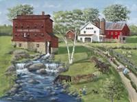 Cold Creek Mill Fine Art Print