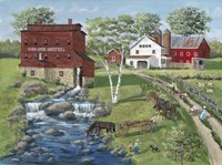Cold Creek Mill Fine Art Print