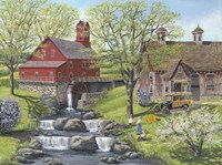 Picnic at the Mill Fine Art Print