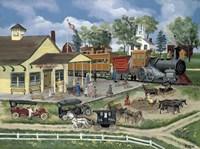 Train Station Fine Art Print