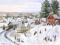 Winter Recess Fine Art Print