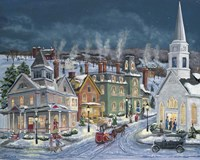 Winter's Eve Fine Art Print