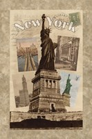 Postcards from New York Fine Art Print