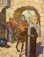 Bethlehem Scene Fine Art Print