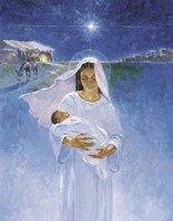Mary With Jesus Fine Art Print