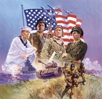 The Armed Forces Fine Art Print