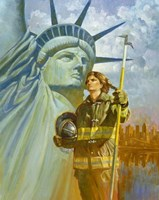 Ladies Of Liberty Fine Art Print