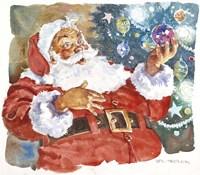 Santa's Glow Fine Art Print