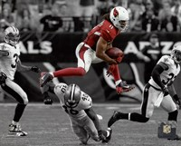 Larry Fitzgerald 2015 Spotlight Action Fine Art Print