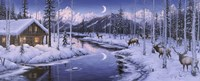 Winter Silence Fine Art Print