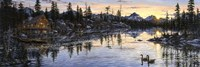 Evening Sunset Fine Art Print