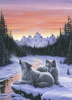 Winter's Dawn Fine Art Print