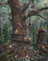 Gnomes Sweet Home Fine Art Print