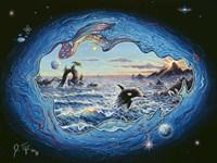 Whales 2 Fine Art Print