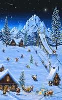 Woodland Games Fine Art Print