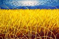 Homage To Van Gogh 1 Fine Art Print