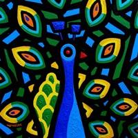 Peacock 2 Fine Art Print
