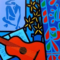 Still Life With Matisse 2 Fine Art Print