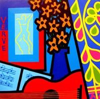Still Life With Matisses Verve Framed Print