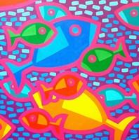 Funky Fish Fine Art Print