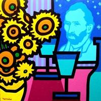 Still Life With Vincent Fine Art Print