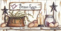 Brown Eggs Fine Art Print
