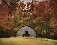 Autumn Barn Fine Art Print