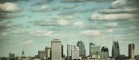 Downtown Nashville After Sunrise Fine Art Print
