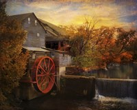 The Old Mill Fine Art Print