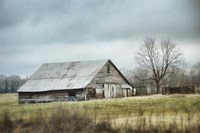 An Old Gray Barn Fine Art Print