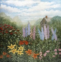 Country Garden Fine Art Print