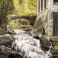 Gatineau Park Ruins Fine Art Print