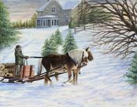 At Home on the Farm Fine Art Print