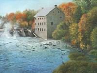 Old Mill Manotick Ontario Fine Art Print