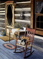 My Front Porch Fine Art Print